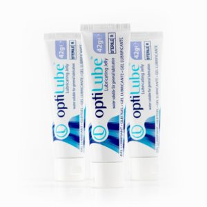 steriel glijmiddel tubes van 42 gram van OptiLube
